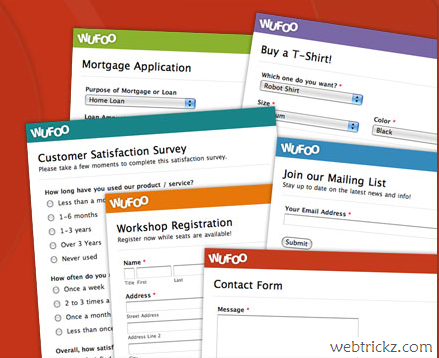 Build Amazing Online Forms Using Wufoo For Free
