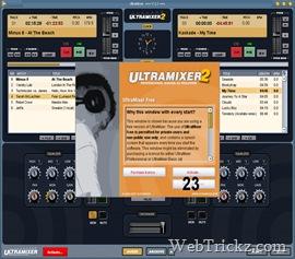 UltraMixer - Free DJ mixing software