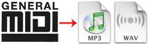 Free Online MIDI to MP3/WAV Converter