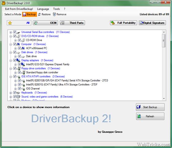 Driver Backup 2