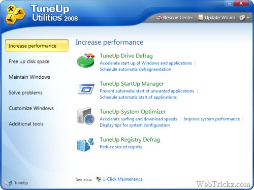 TuneUp Utilities 2008 Free license key