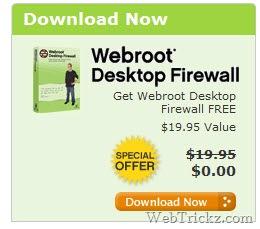 Webroot Desktop Firewall Free