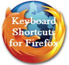 Keyboard shortcuts for Firefox