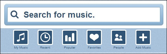 Grooveshark - Listen to millions of songs Online Free