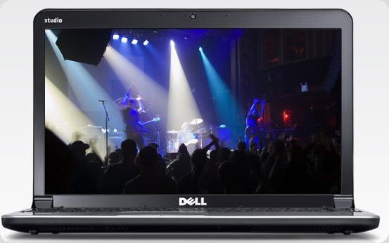 New Dell Studio 14z laptop