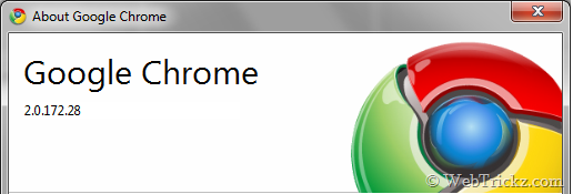 Stable Chrome updated to 2.0.172.28