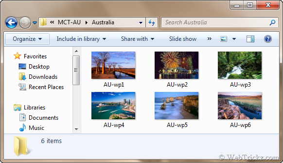 Hidden wallpapers of Australia