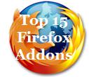 Top 15 Firefox Addons