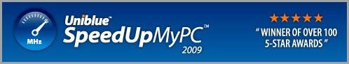Get Free full version of Uniblue SpeedUpMyPC 2009