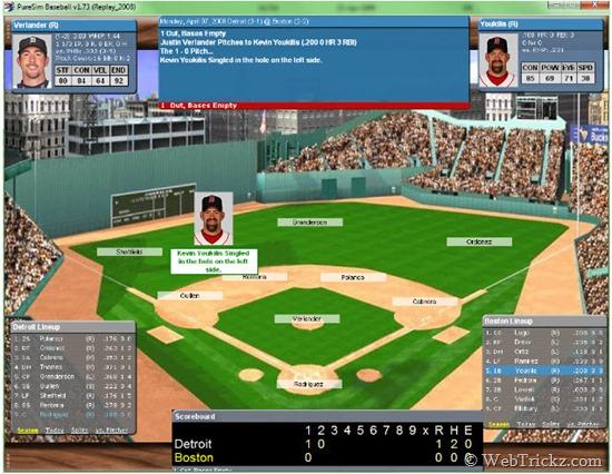 PureSim Baseball