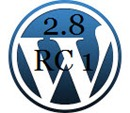 WordPress 2.8 RC 1