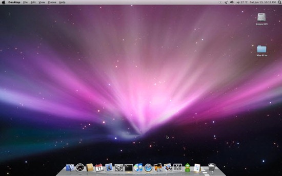 Transform Linux to MAC look