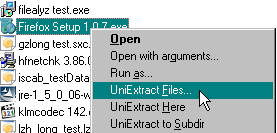 Universal Extractor - Extract software packages