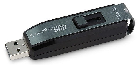 Kingston datatraveler300 - world's highest capacity memory stick