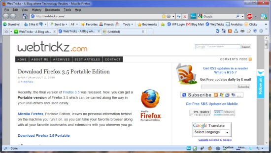 IE8 theme for firefox