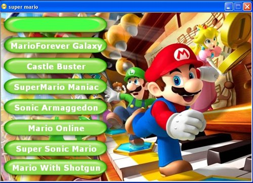 online game play mario 2009