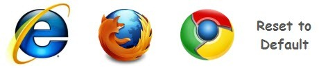 Reset browsers