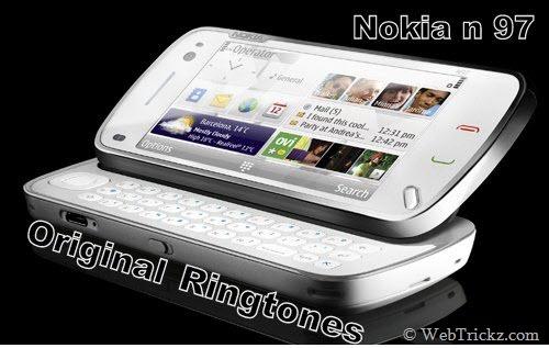 Nokia n97 Original ringtones