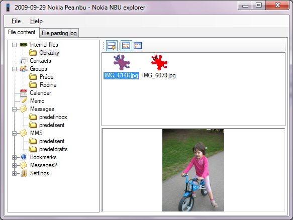 Nokia NbuExplorer