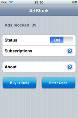 AdBlock for iphone