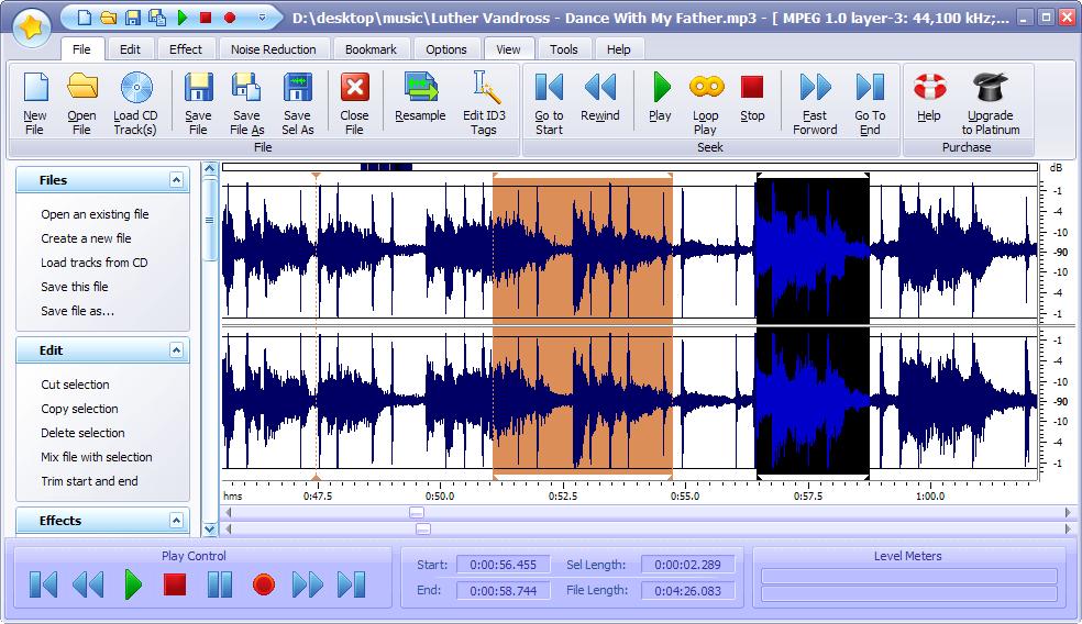 power sound editor free   audio editor ripper converter