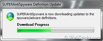 SUPERAntiSpyware Updates