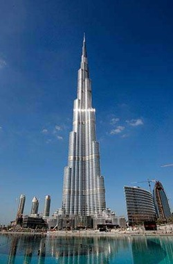 Burj Khalifa aka Burj Dubai - Tallest building in the world