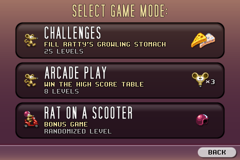 3 Game modes