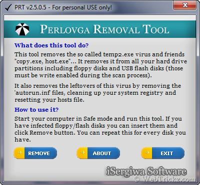 PRT - Perlovga Removal Tool