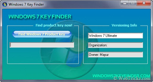 Win 7 ultimate key product key for windows 7 ultimate 64 for Windows 07 product key