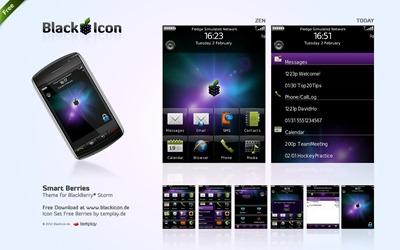 Smart Berries - Free BlackBerry theme