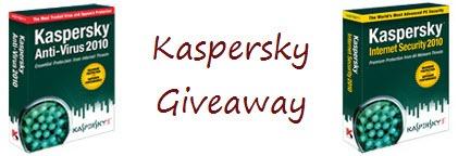Kaspersky Giveaway