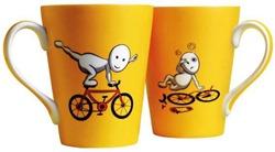 Zoozoo cycle conical mug