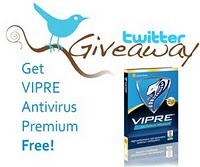 Vipre - twitter giveaway