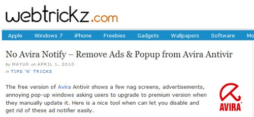 Ads blocked on IE