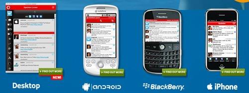 Vodafone Update app