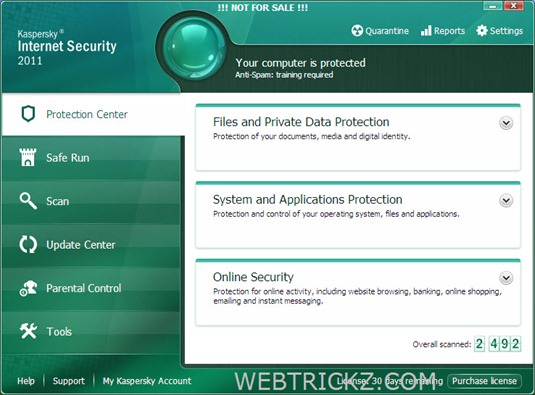 Kaspersky Internet Security 2011 Beta