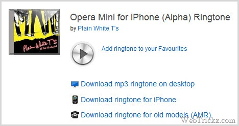 download ringtone