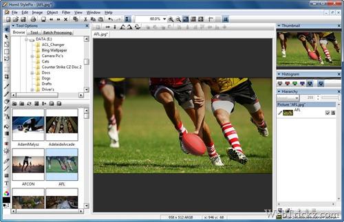 Hornil StylePix - Free Image editor