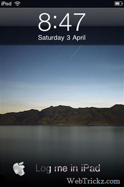 ipad theme for iphone