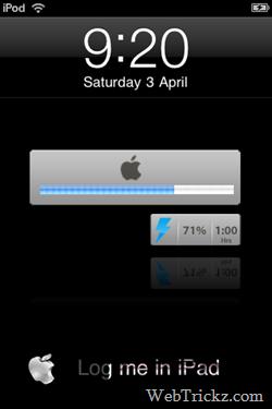 ipad theme for ipod