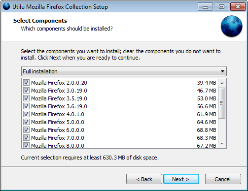 Utilu Mozilla Firefox Collection 1.0.6.0