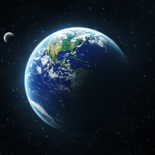 Planet Earth - iPad wallpaper