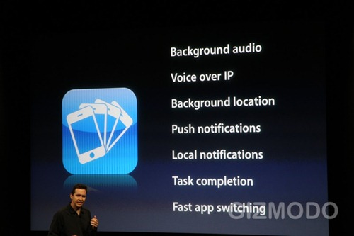 iphone 4.0 API services