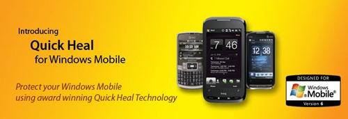 Quick Heal AntiVirus for Windows Mobile