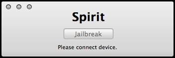 Spirit - Jailbreak iPad