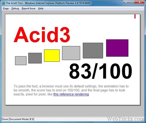 Acid 3 Score