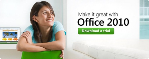 Download Office 2010 Trial