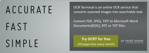 OCR Terminal