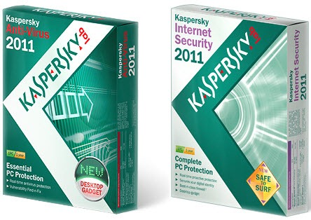 Kaspersky Antivirus 2011 & Kaspersky Internet Security 2011